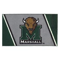 "NCAA College Rug 26""x45""-Marshall University"